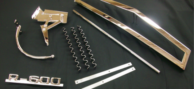 Chrome Plated Plastic Parts
